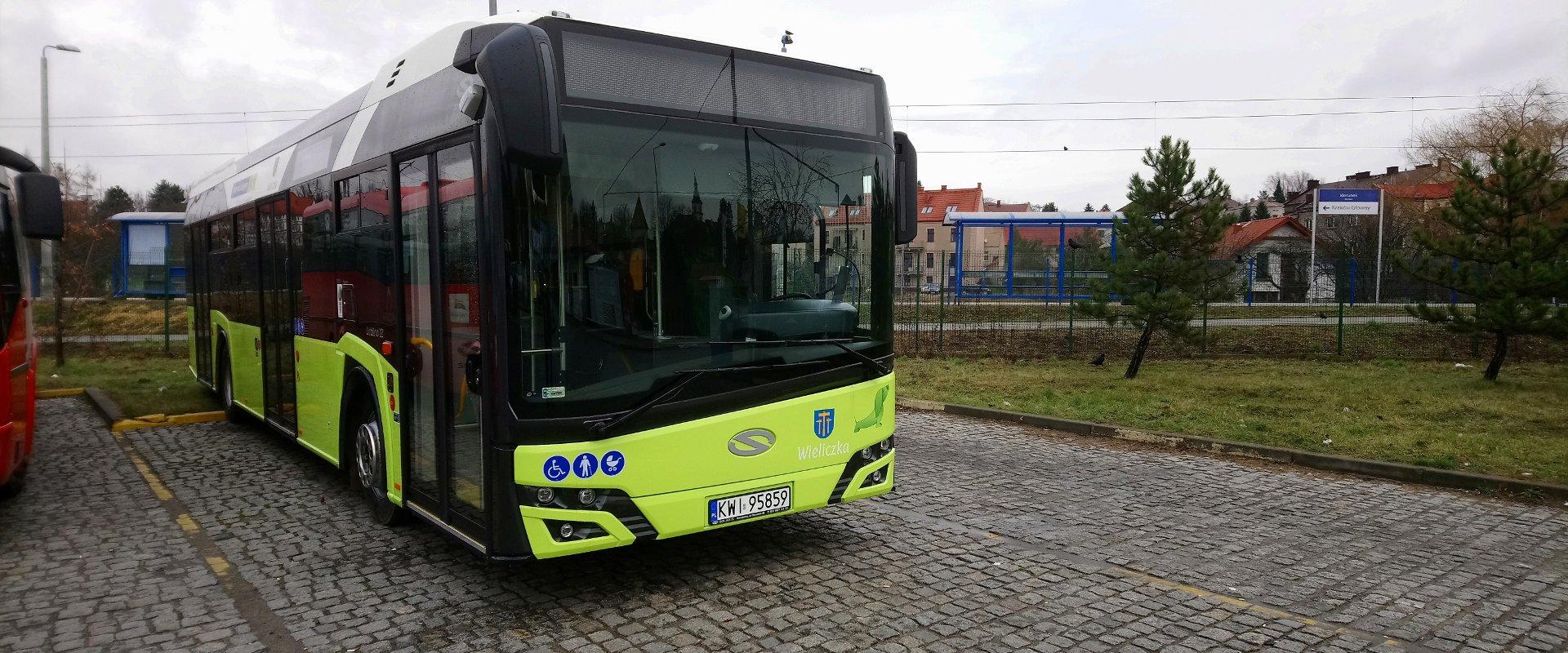 Solaris Urbino 12 - Dworzec PKP Wieliczka Rynek