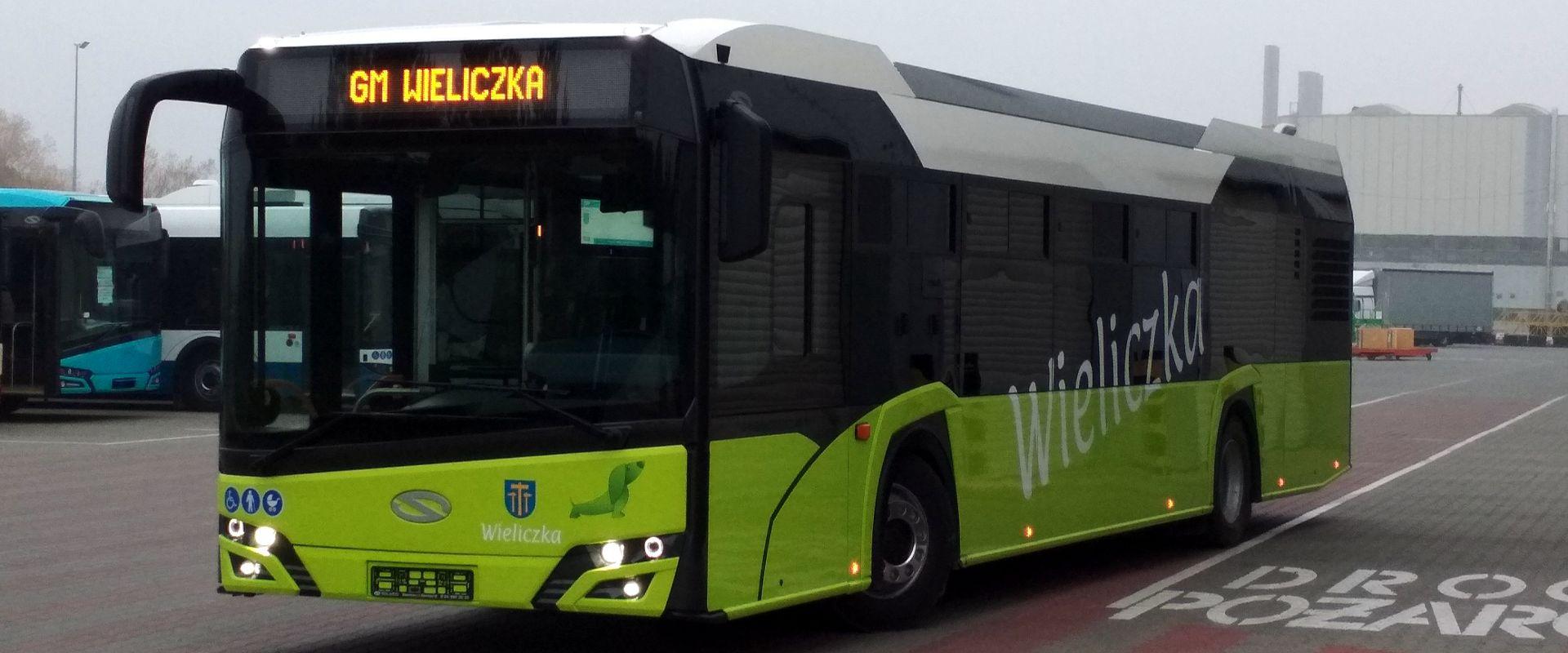 Solaris Urbino 12 - Pierwszy odebrany pojazd